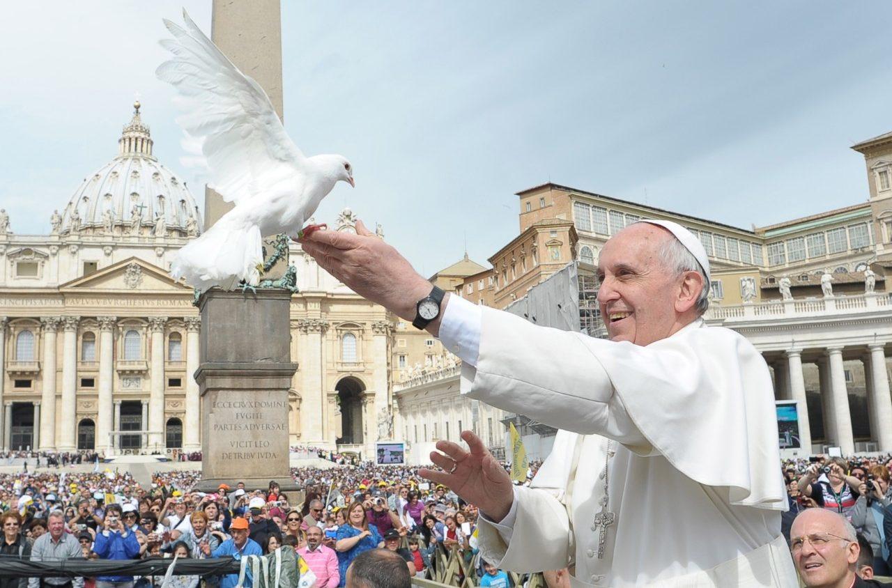 Día Internacional Paz: Papa Francisco