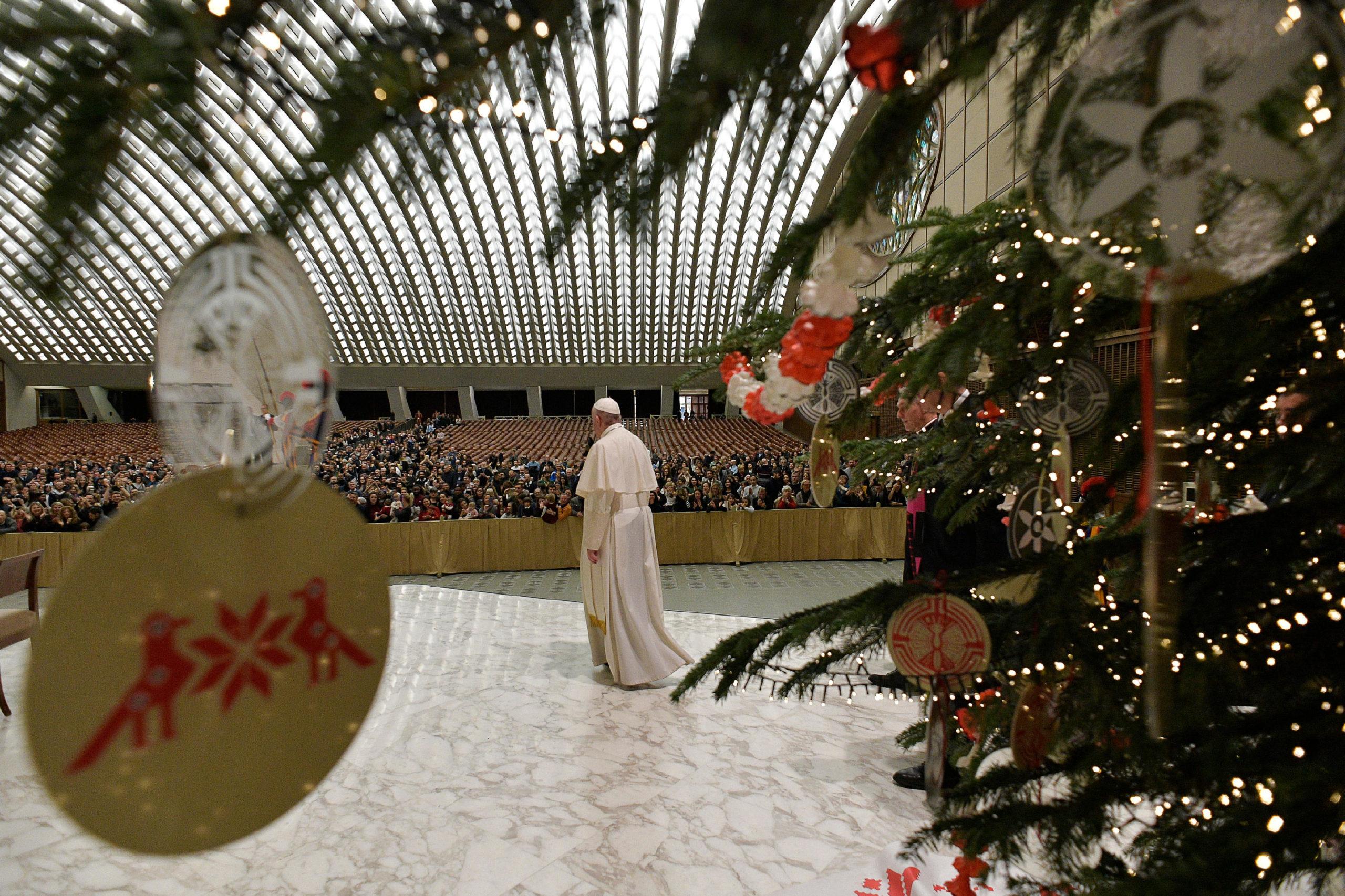 Saludos Navideños A Los Empleados Del Vaticano, 21 De Diciembre De 2019 © Vatican Media