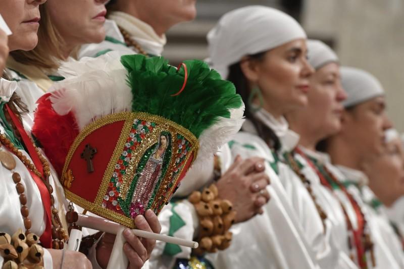 Misa en la Festividad de Nuestra Señora de Guadalupe, 12 dic. 2019 © Vatican Media