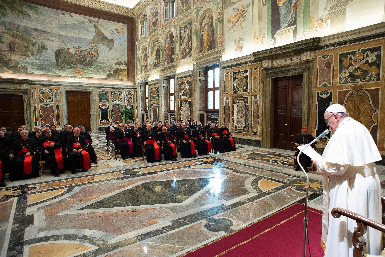 Discurso del Papa a los miembros de la Congregación para la Doctrina de la Fe © Vatican Media