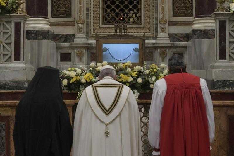 Basílica De San Pablo Extramuros, Vísperas Del 25 De Enero De 2020 © Vatican Media