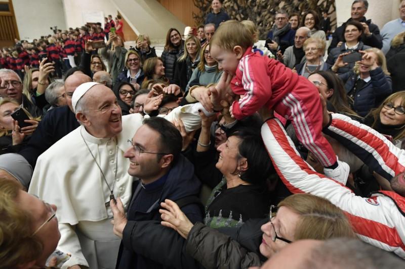 Audiencia general, 29 enero 2020 © Vatican Media