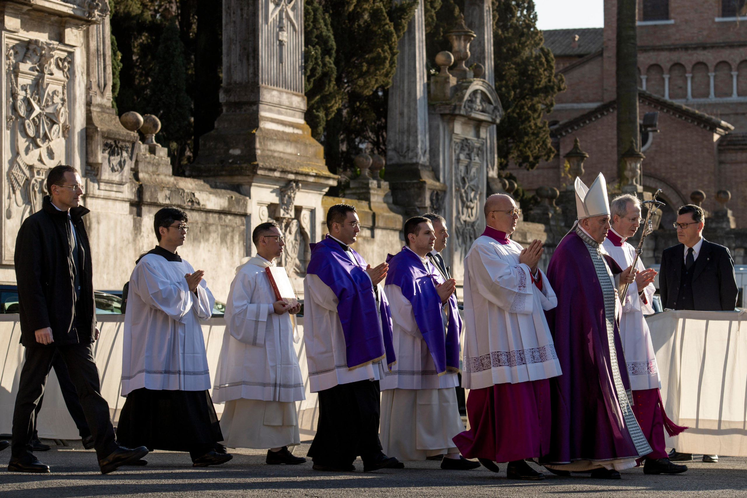 Miércoles de ceniza, 26 de febrero de 2020 © Vatican Media