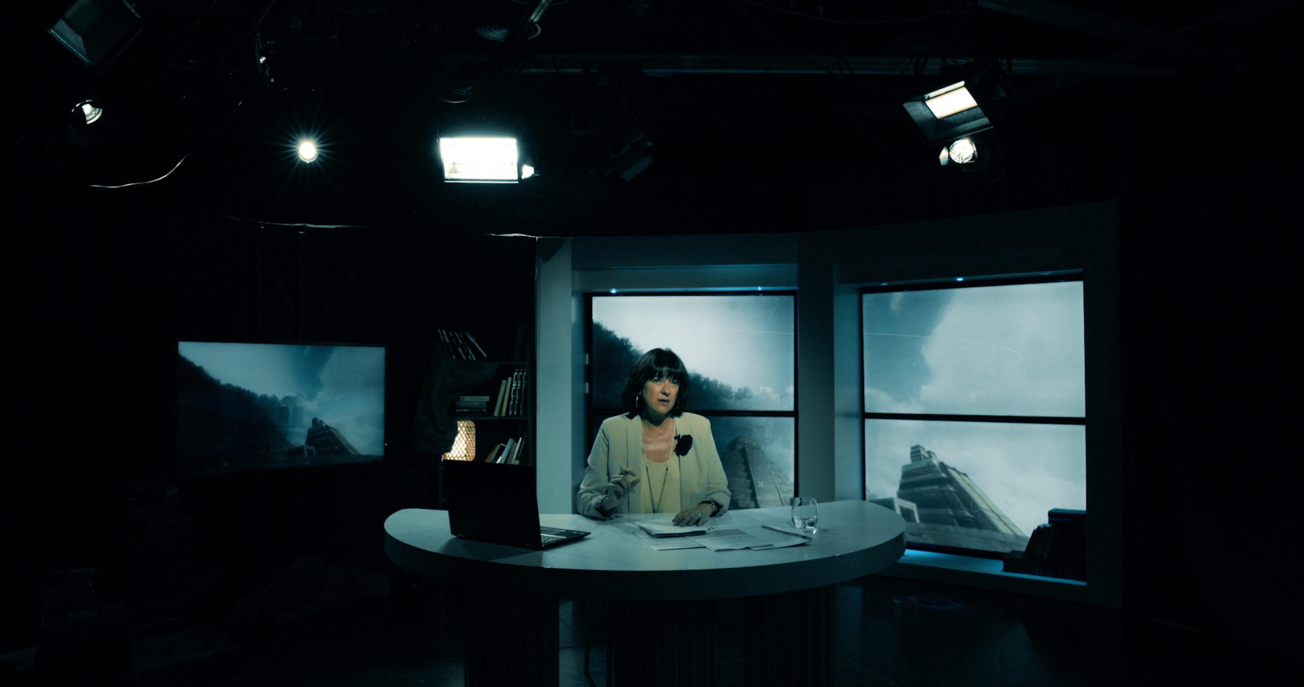Fotograma de la película, María Vallejo-Nágera en escena © Goya Producciones