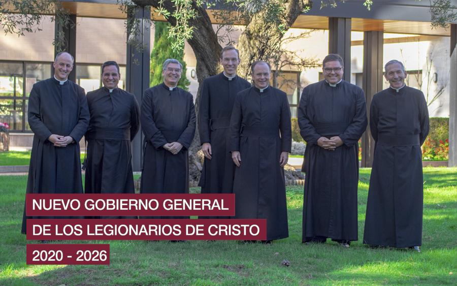 Nuevo gobierno 2020-2026 © Legionarios de Cristo