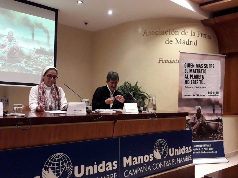 Presentación de la Campaña en Madrid © Manos Unidas (Facebook)