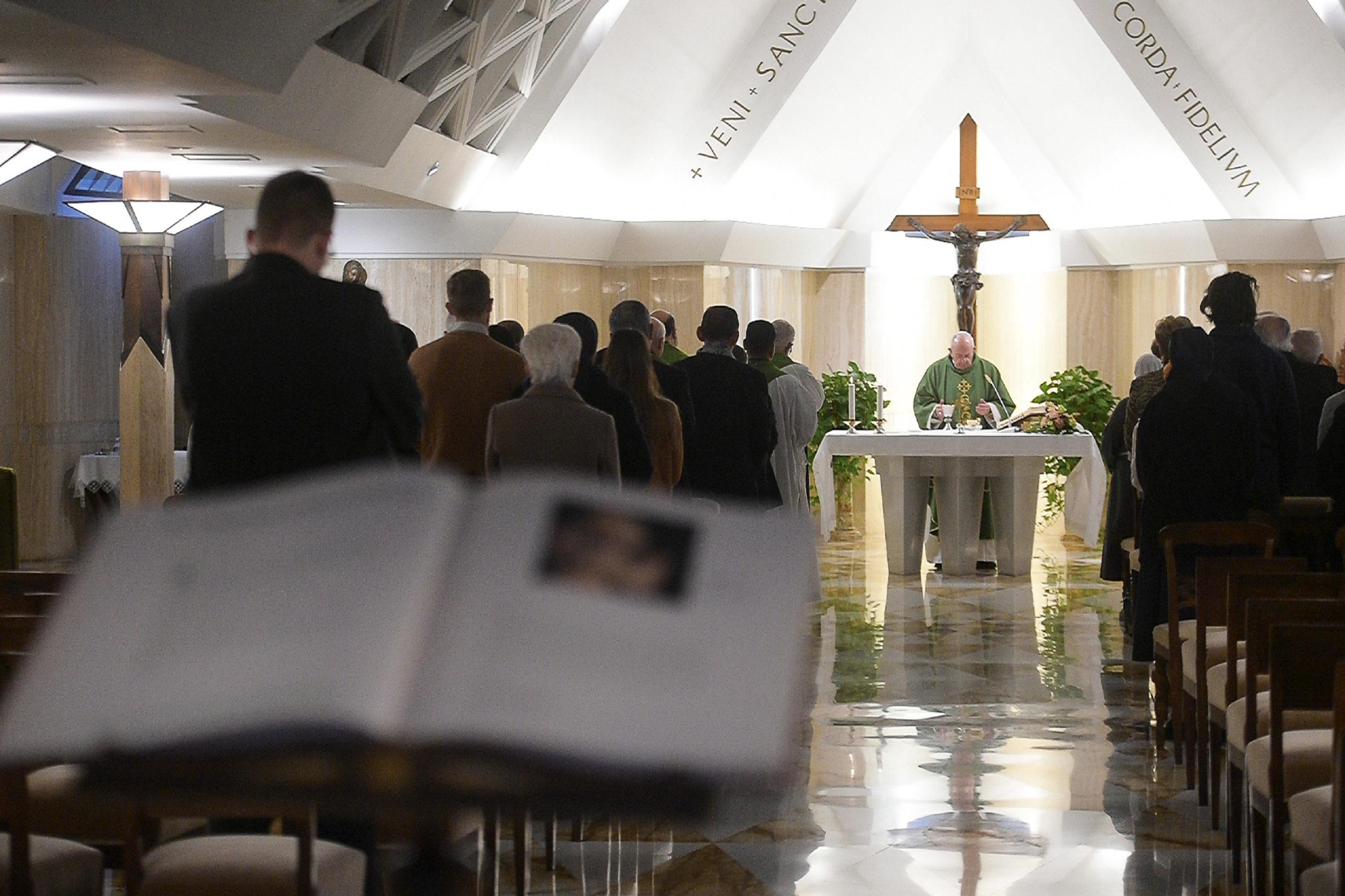 Misa en Santa Marta, 7 feb. 2019 © Vatican Media