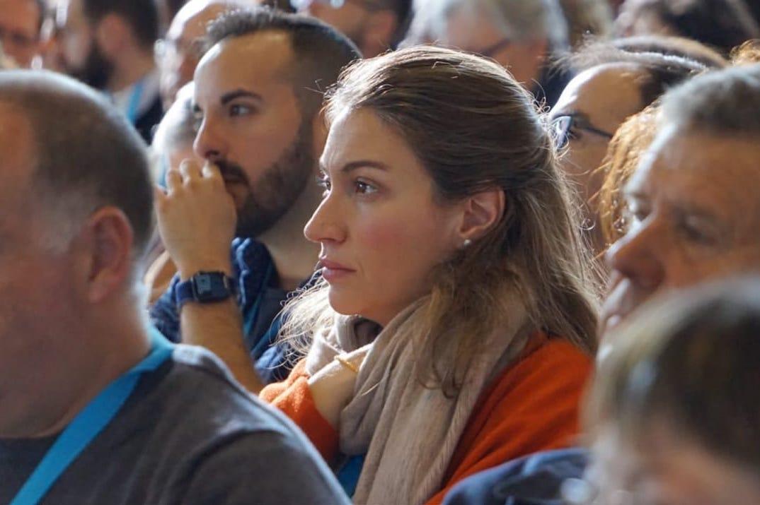 María José Aguilar Mateos participó desde Granada en el Congreso © Pueblo De Dios en Salida