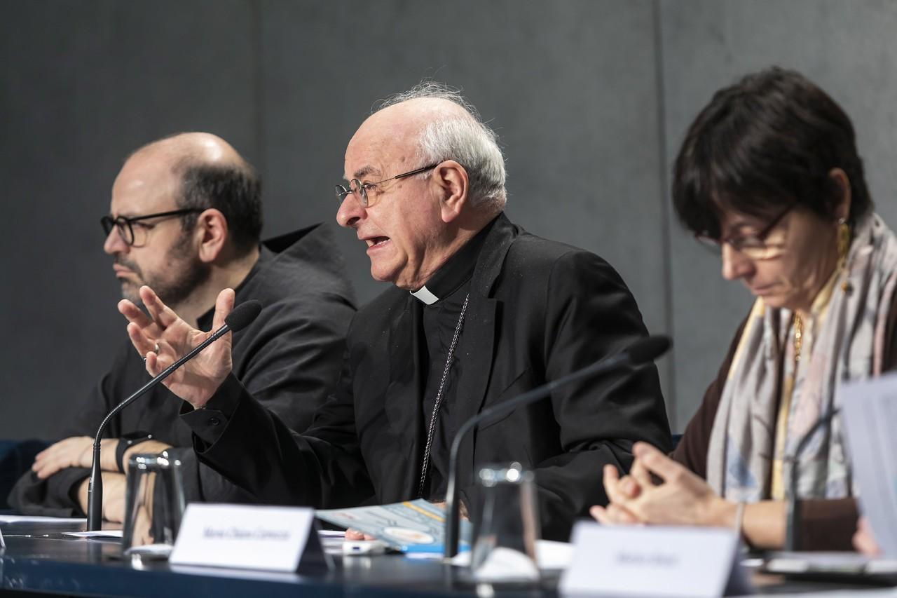 Mons. Paglia presenta el evento sobre Inteligencia Artificial © Pontificia Academia Para la Vida
