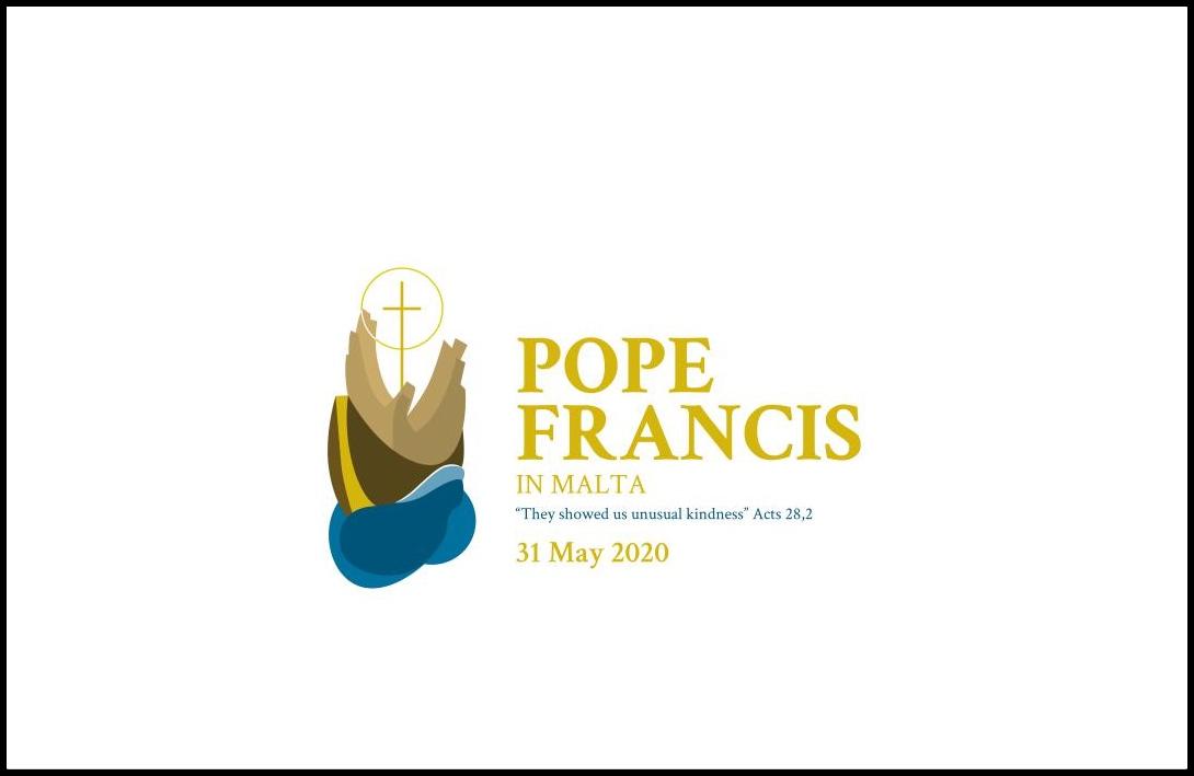 Logo viaje de Malta © Vatican Media
