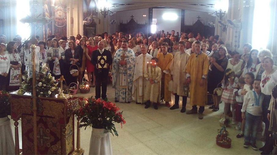 La comunidad ucraniana celebra la Pascua en Sevilla © Archisevilla