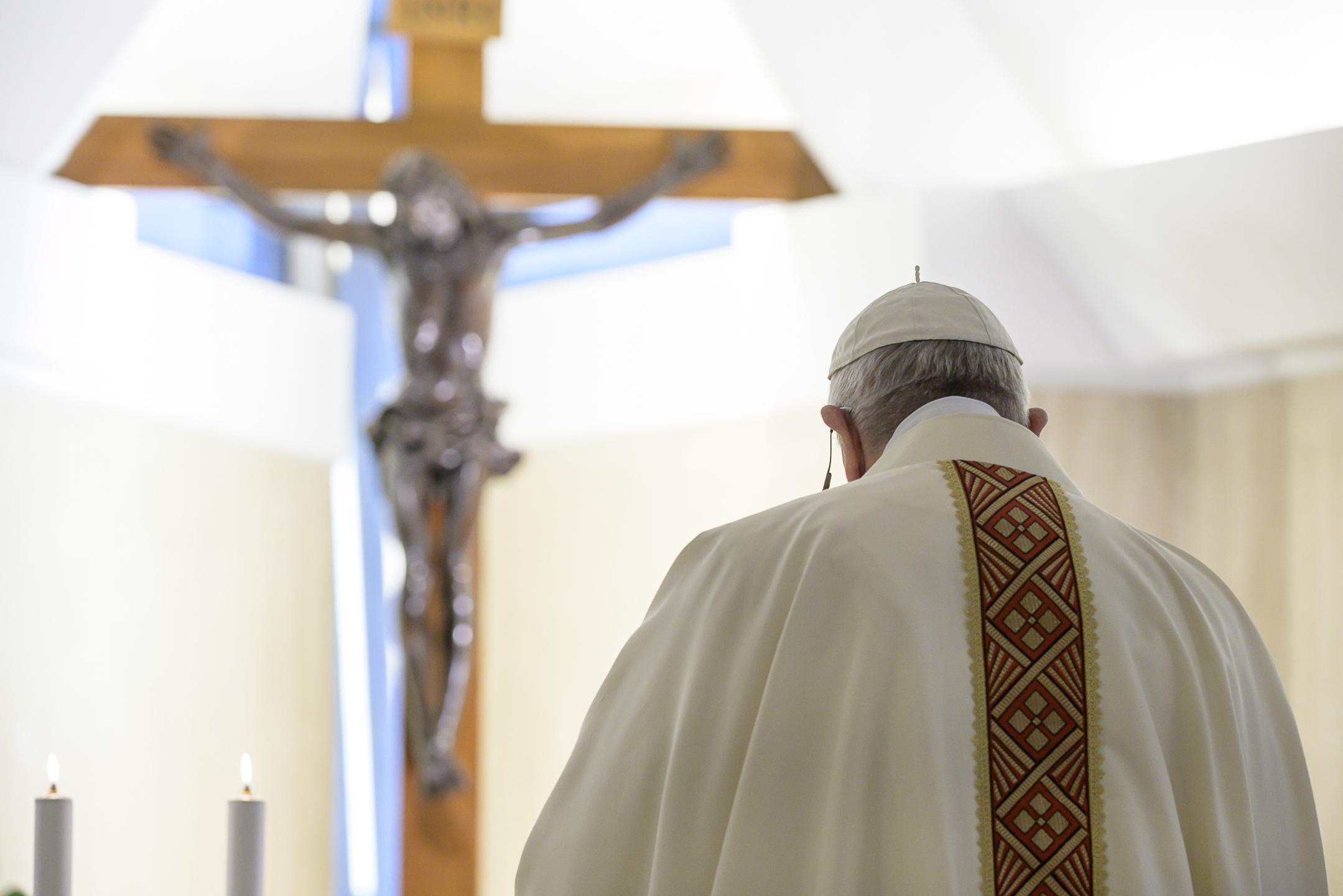 Argentina: Papa Misa marineros