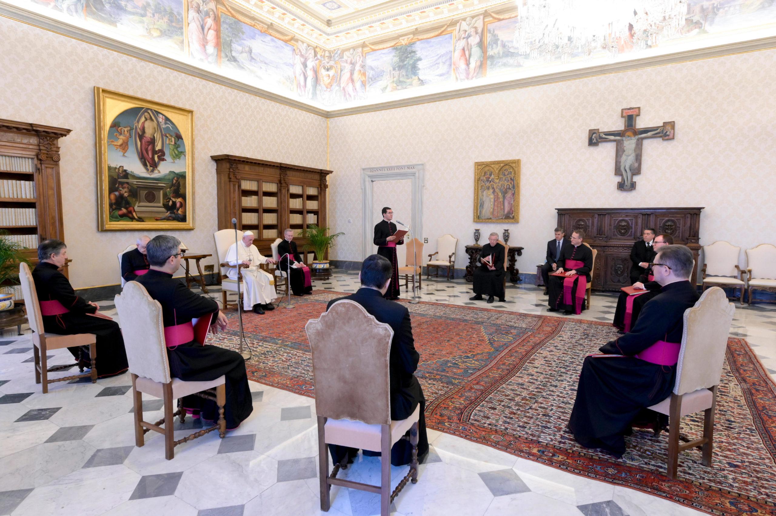 Audiencia general del Papa Francisco, 6 mayo 2020 © Vatican Media