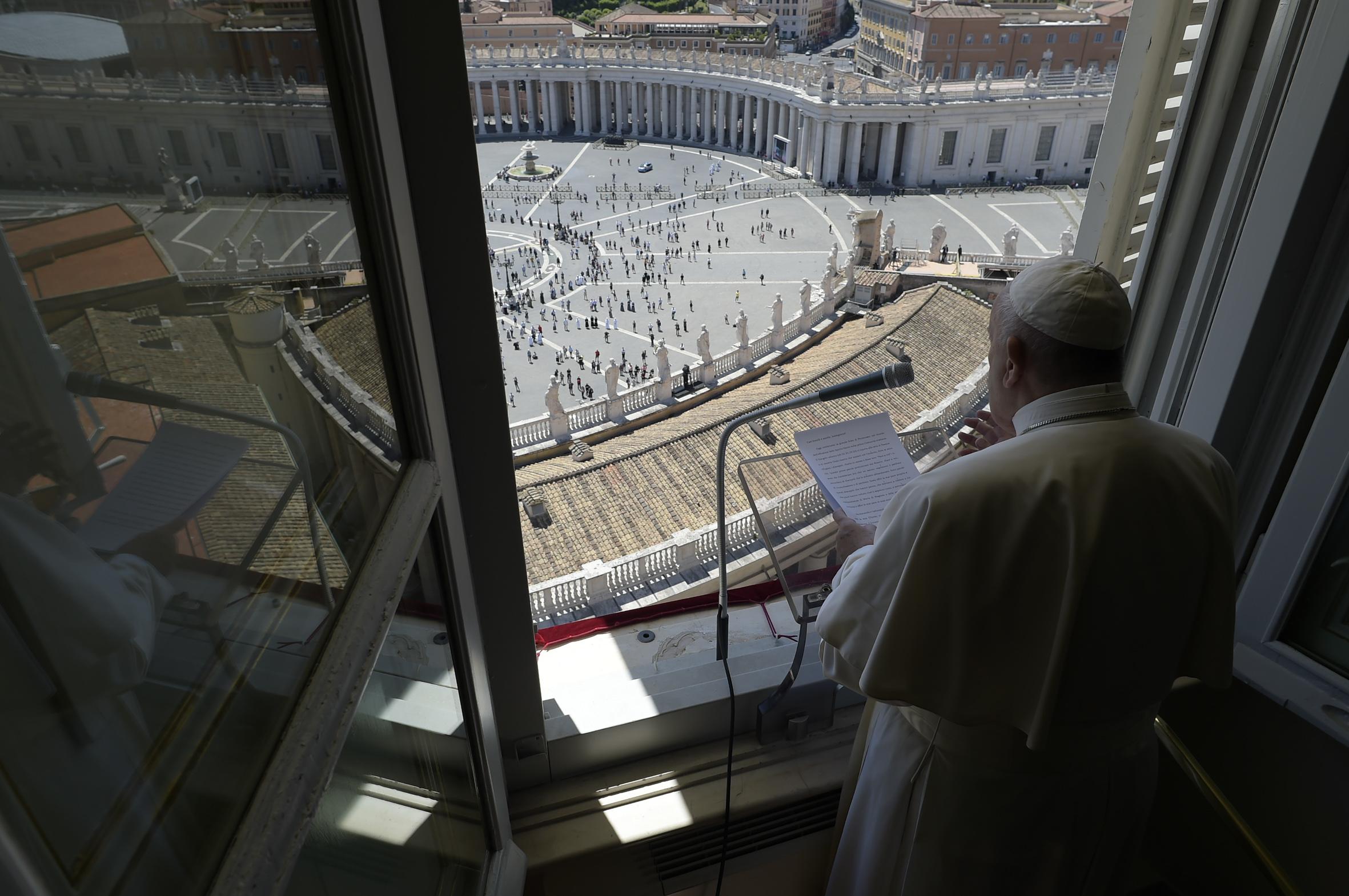 Regina Coeli, 31 mayo 2020 (C) Vatican Media