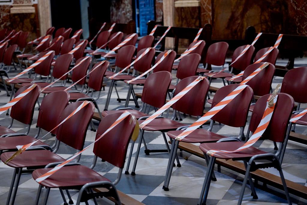 Los templos españoles se preparan para la celebración de la Misa al 50% © Archidiócesis de Valencia