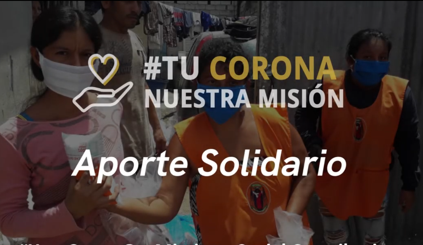Schoenstatt iniciativa solidaria por coronavirus