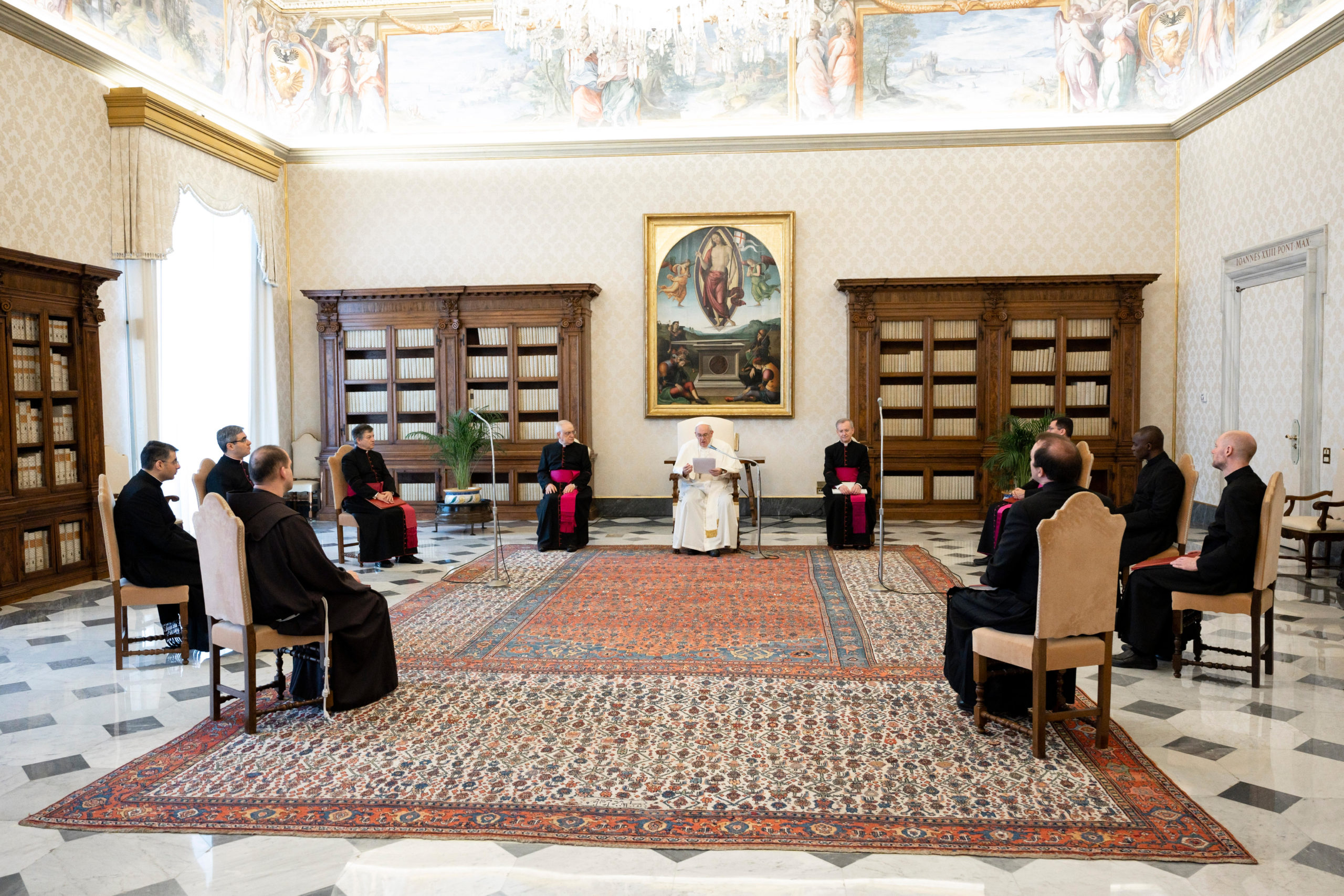 Invitación del Papa a preparar la fiesta de la Ascensión del Señor © Vatican Media