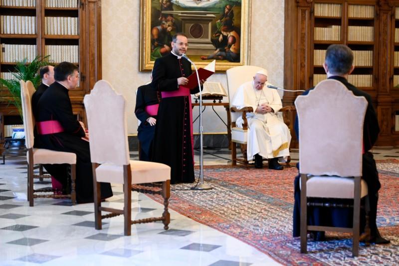 Papa Francisco: Oración de David