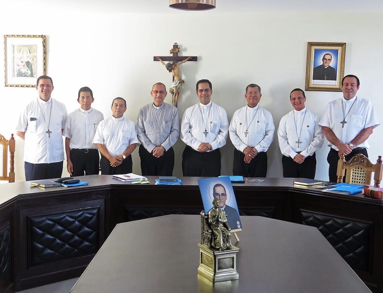 Obispos de la Conferencia Episcopal de El Salvador © CEDES