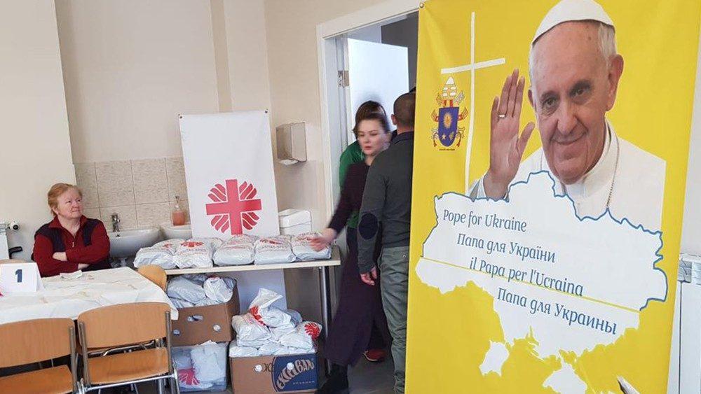 Papa para Ucrania