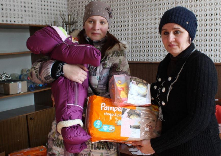 Ucrania: Visita del limosnero apostólico