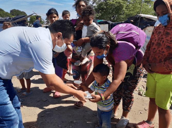 Colombia: Papa migrantes venezolanos