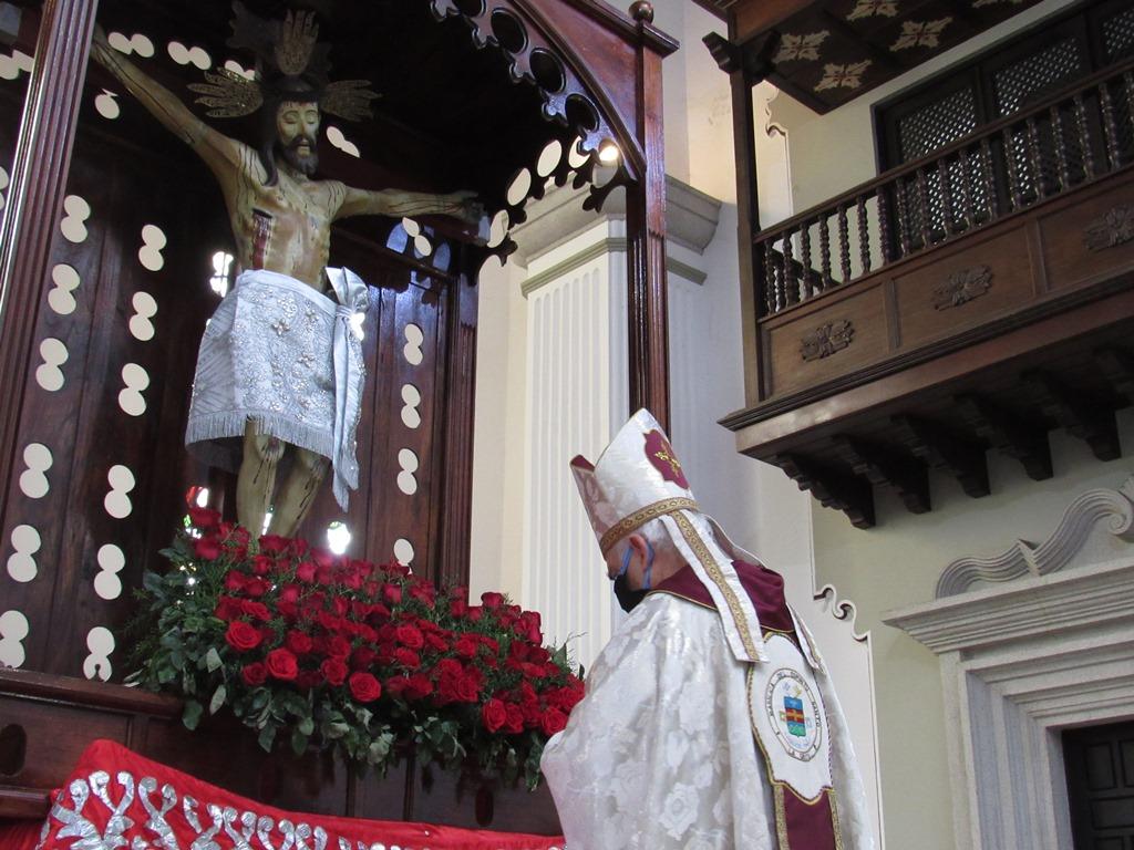 Venezuela: Consagración al Santo Cristo de la Grita (C) Diócesis de San Cristóbal