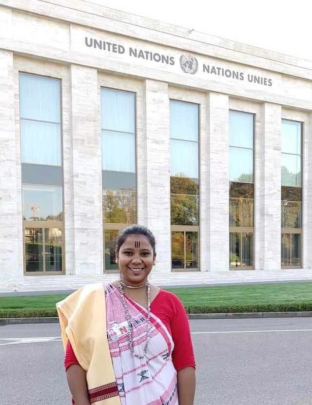 India: Joven Católica, ONU
