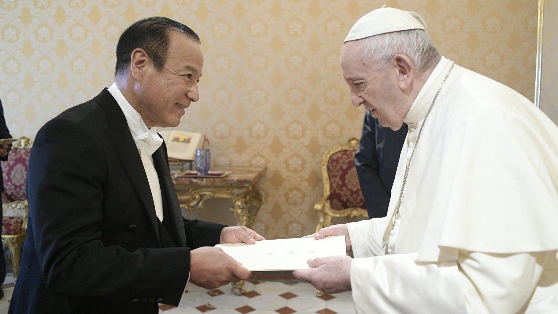 Vaticano: embajador de Japón