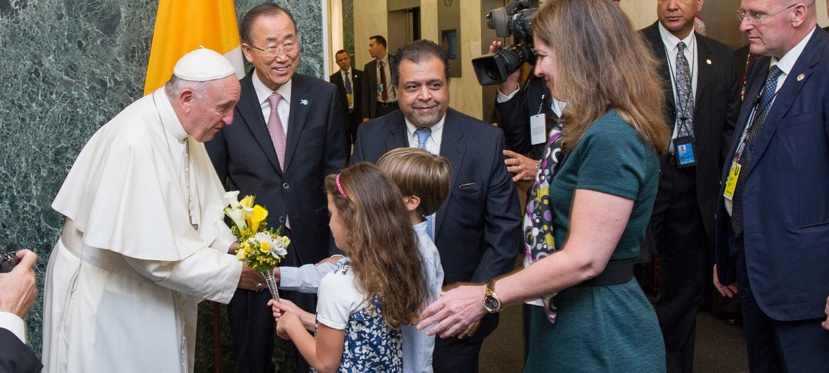 Naciones Unidas: Papa Francisco Asamblea General