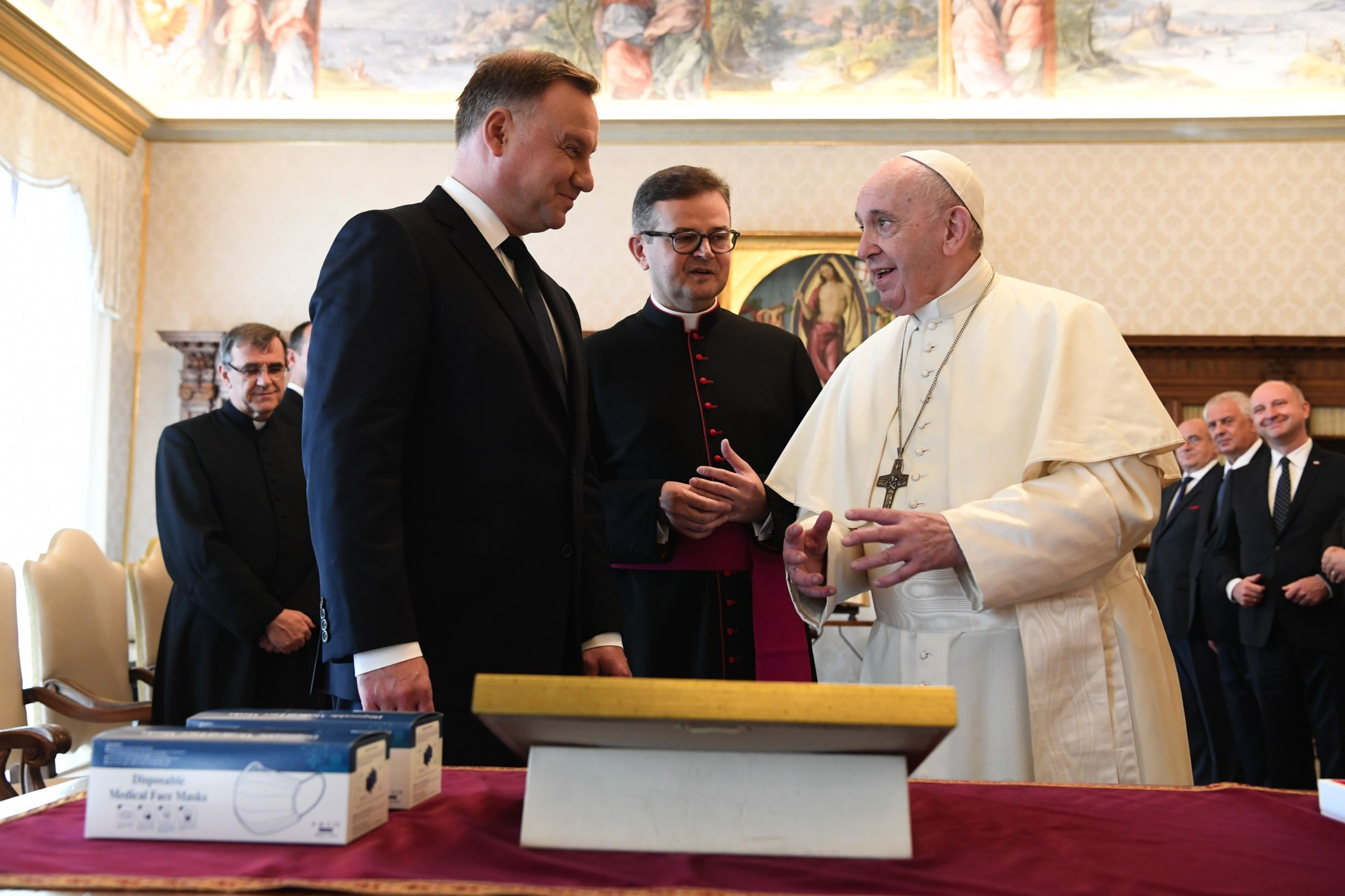 presidente de Polonia Papa