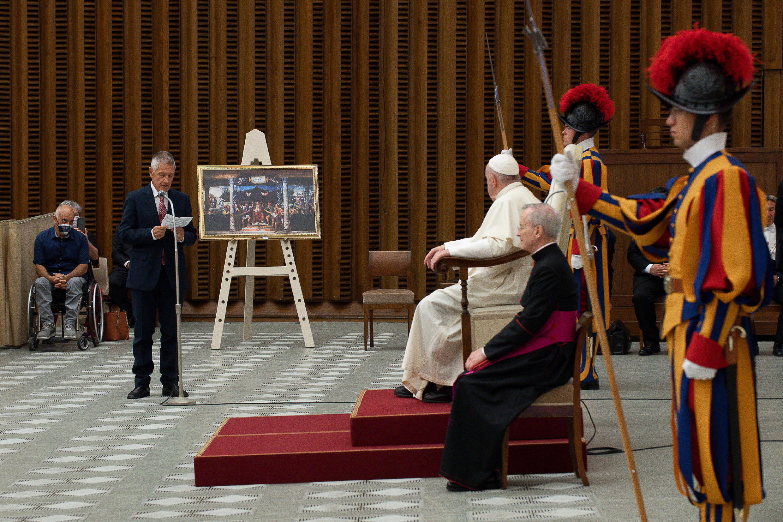 Banco Farmaceutico: Audiencia del Papa