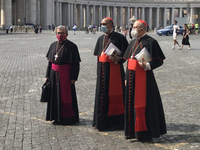 España: El Papa recibe a la cúpula de la Conferencia Episcopal Española
