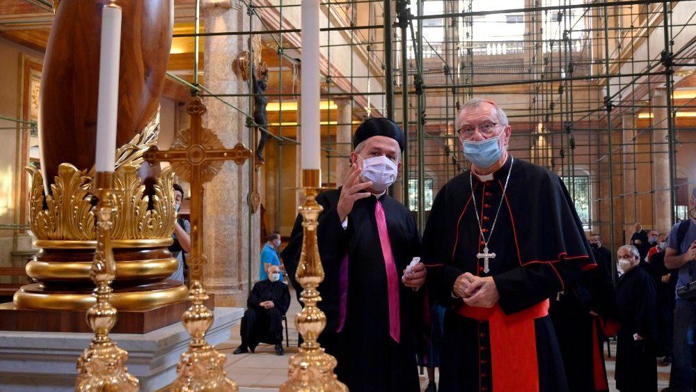 Líbano secretario de Estado Vaticano