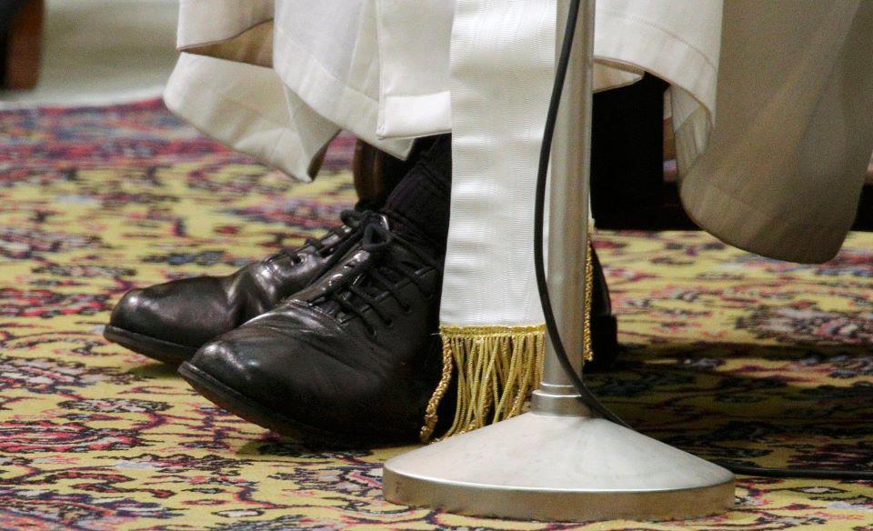 zapatero del Papa Francisco