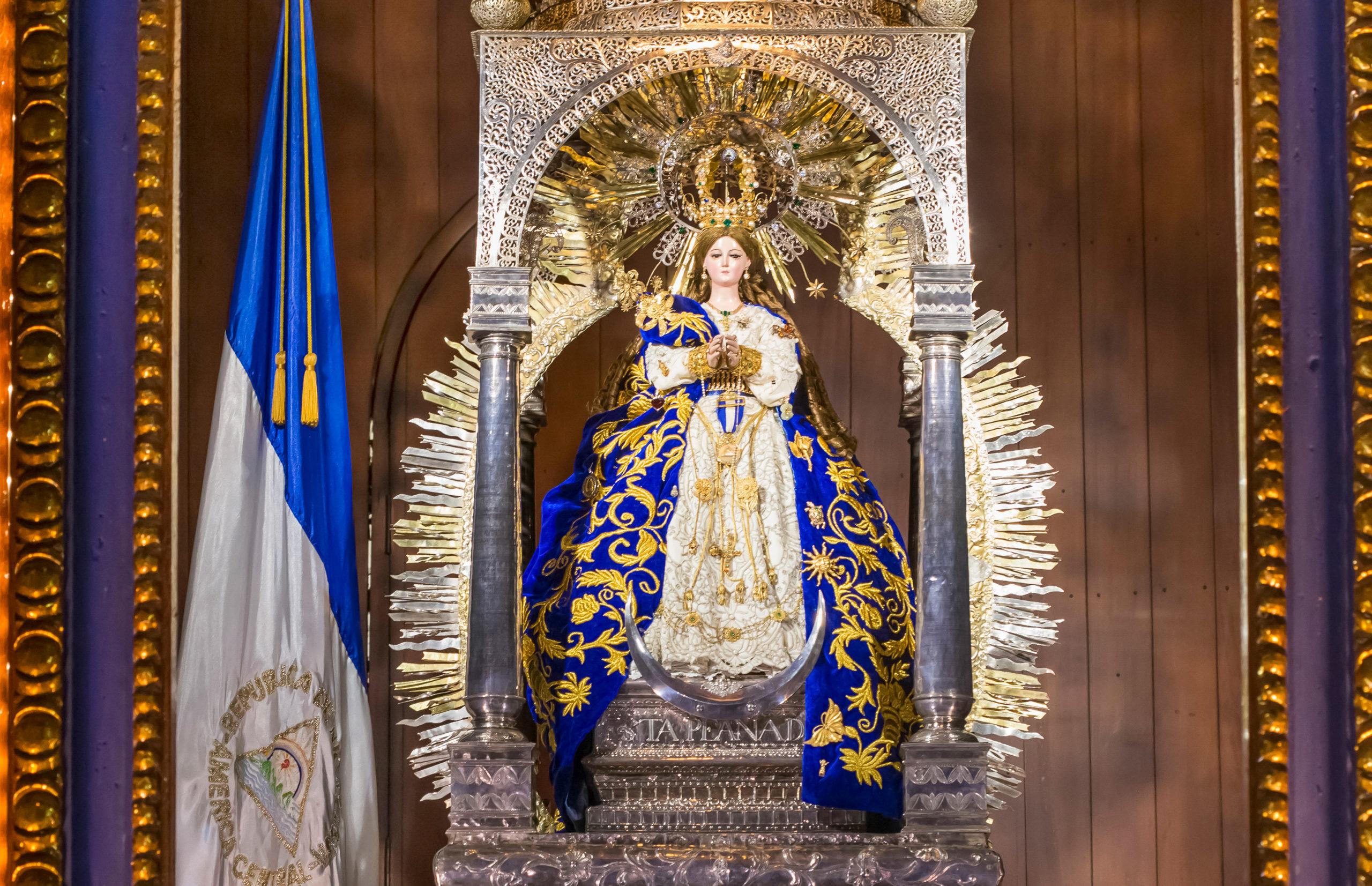 Nicaragua: Virgen del Trono