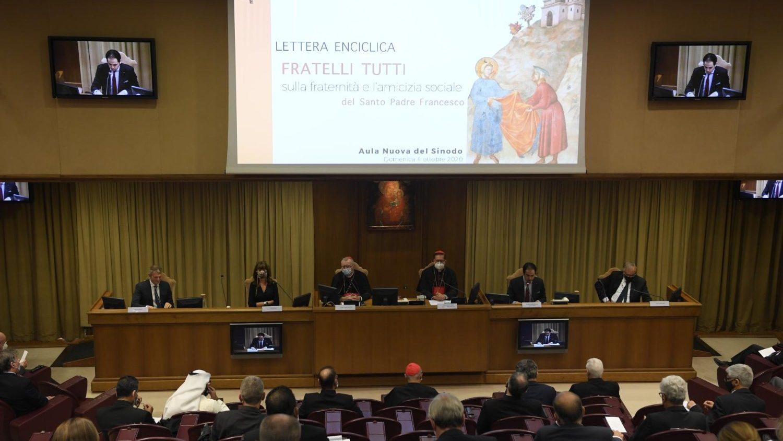 Presentación de la Encíclica del papa 'Frateli tutti'