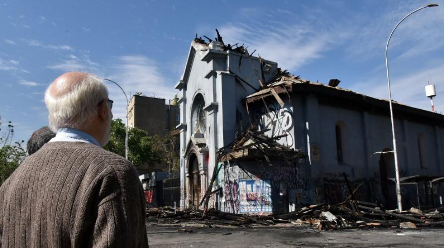 Chile: Obispos violencia