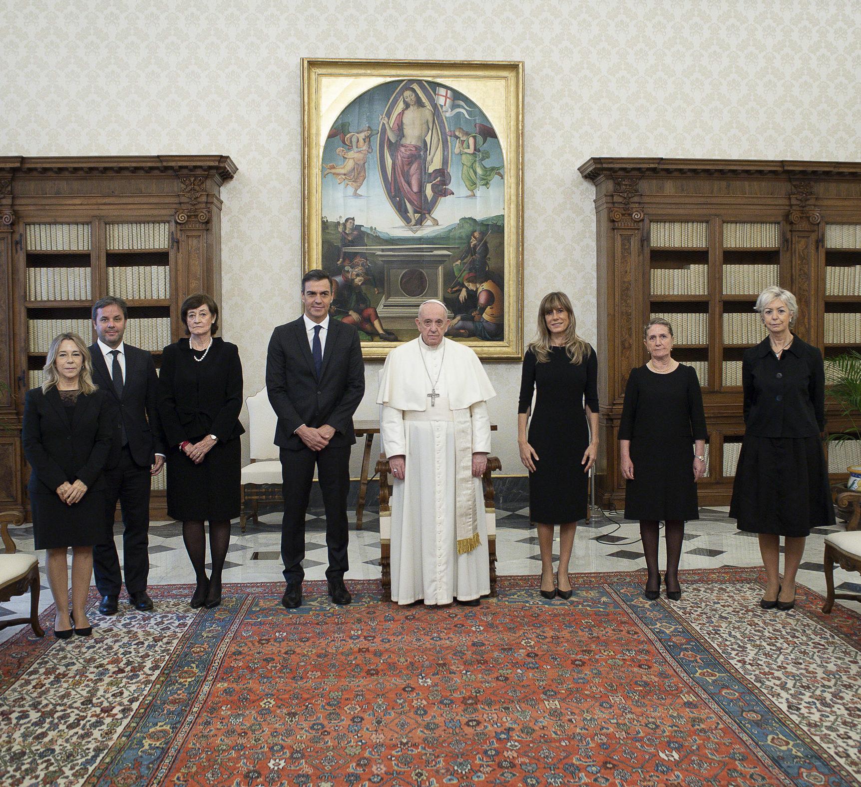 papa francisco presidente españa