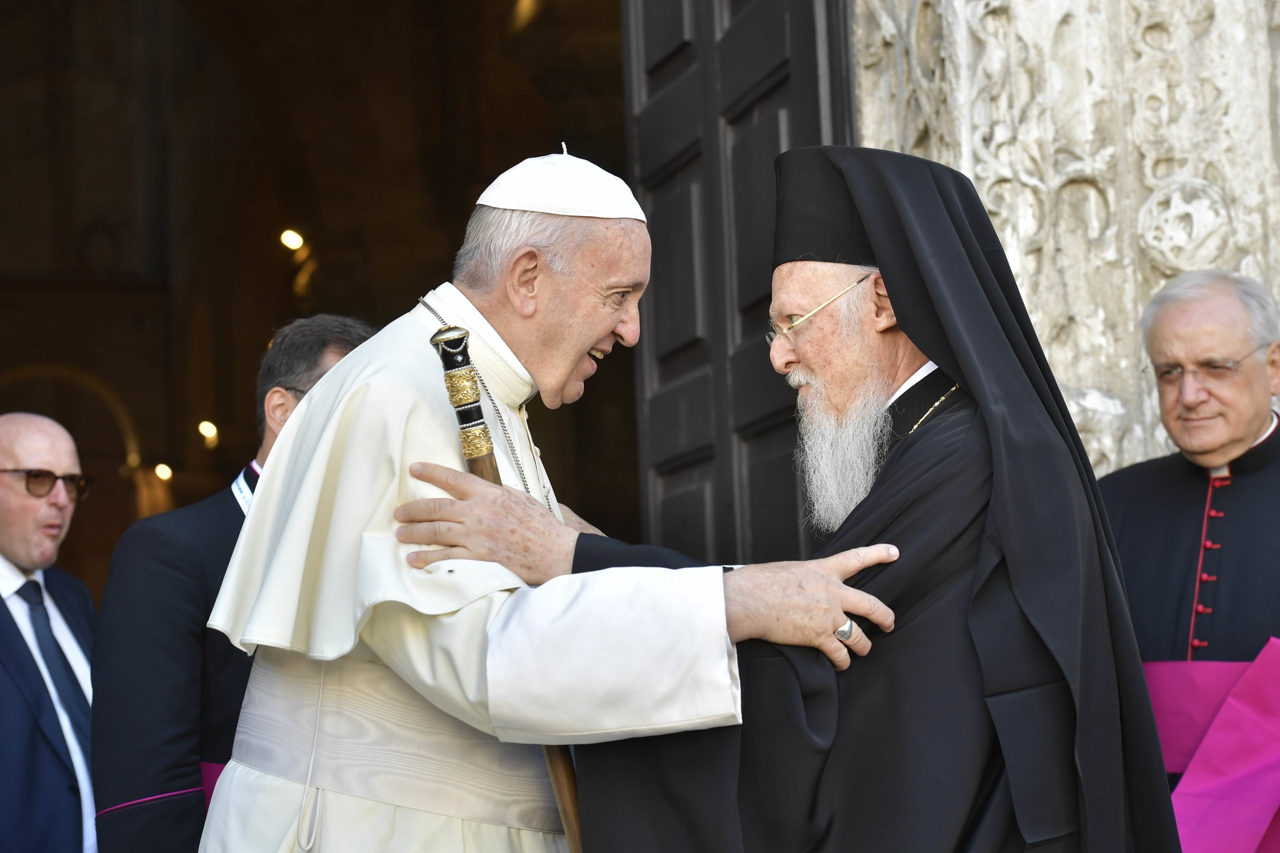 Doctorado patriarca Bartolomé I