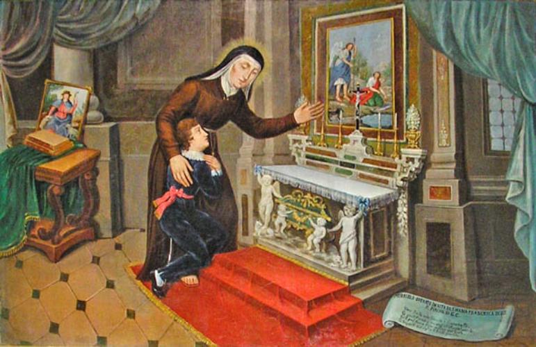 Santa María Francisca de las 5 llagas