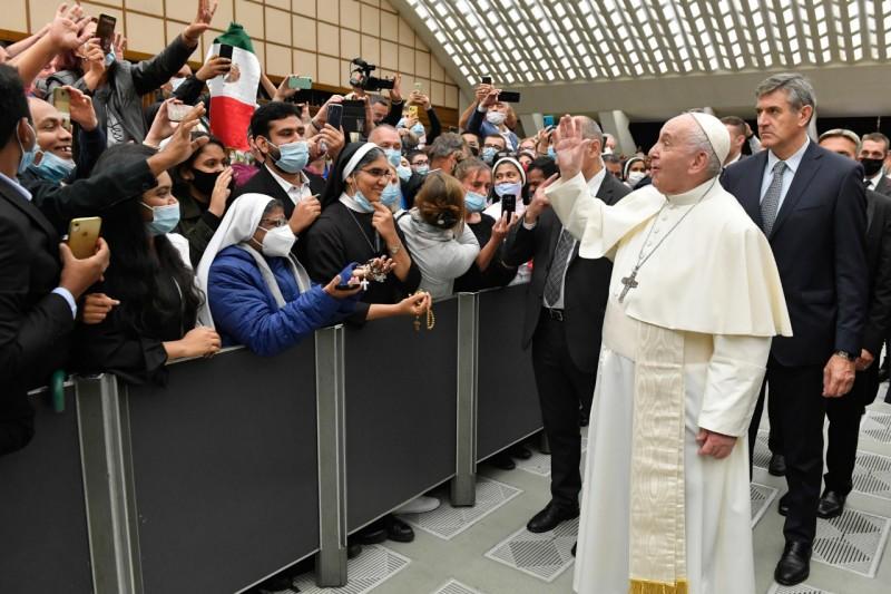 Papa Francisco camino de oración