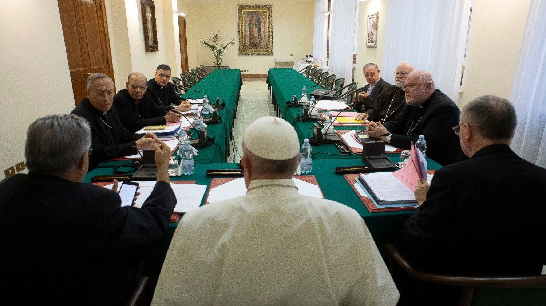 Consejo cardenales reunión virtual