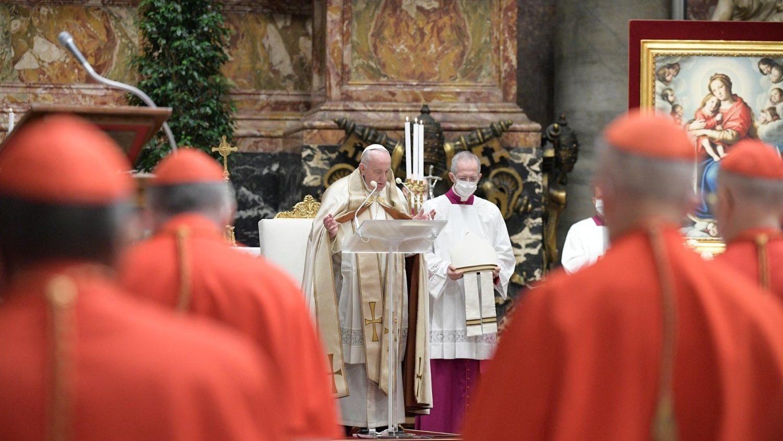 Consistorio papa homilía