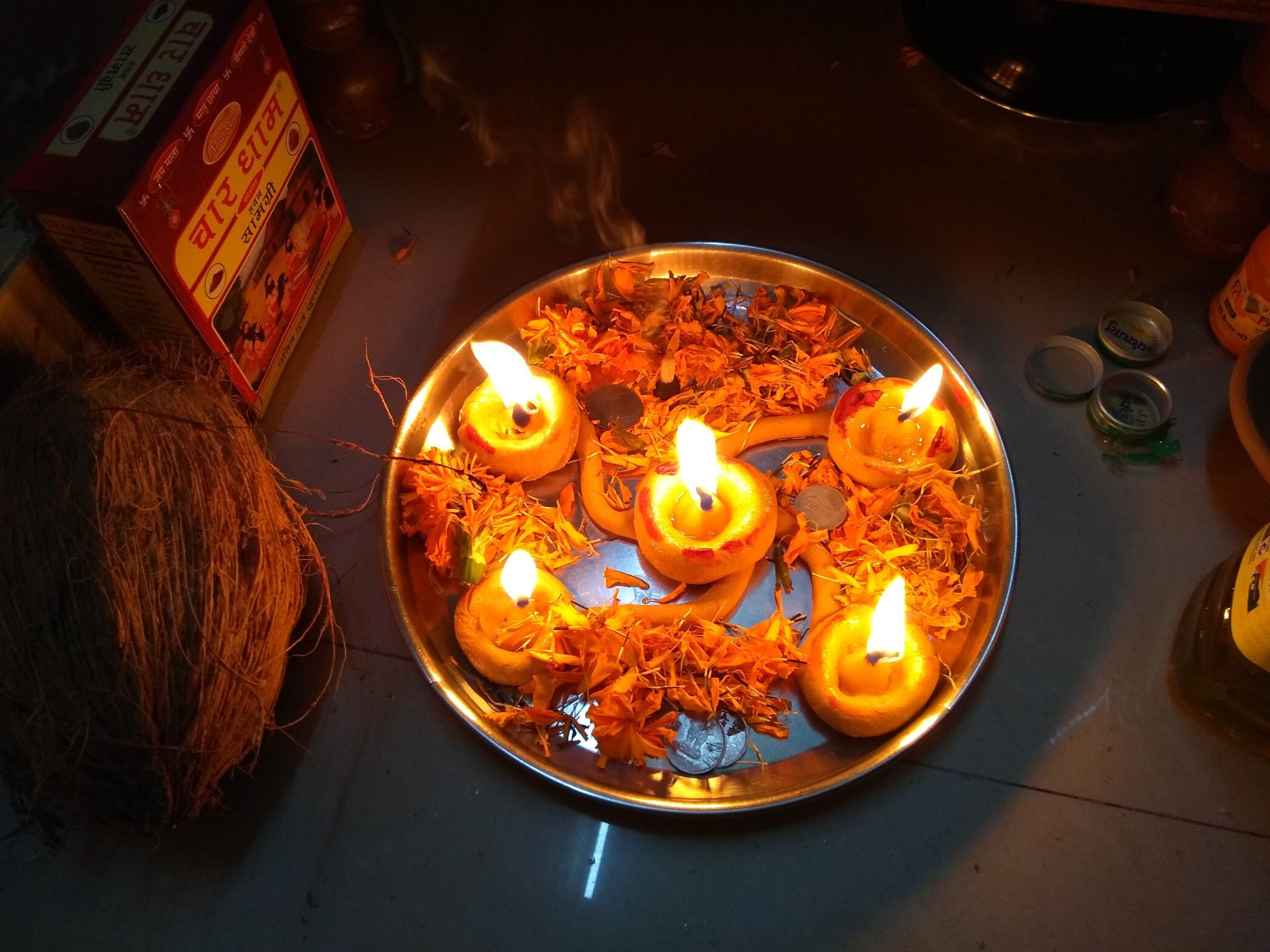 hindúes deepavali
