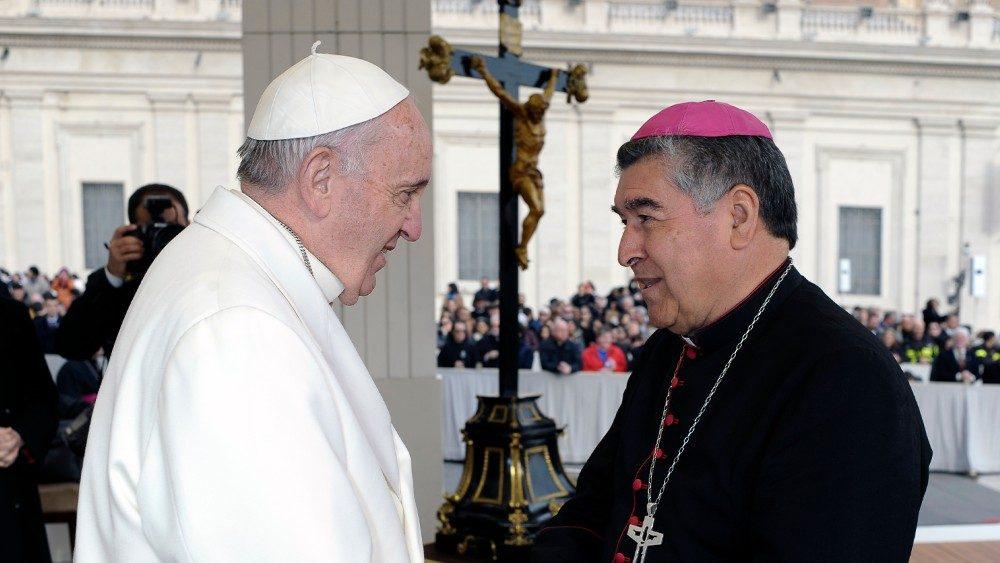 Carta Papa Monseñor Arizmendi