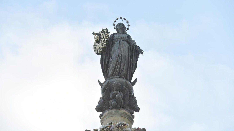 Inmaculada Papa no irá a la plaza de España