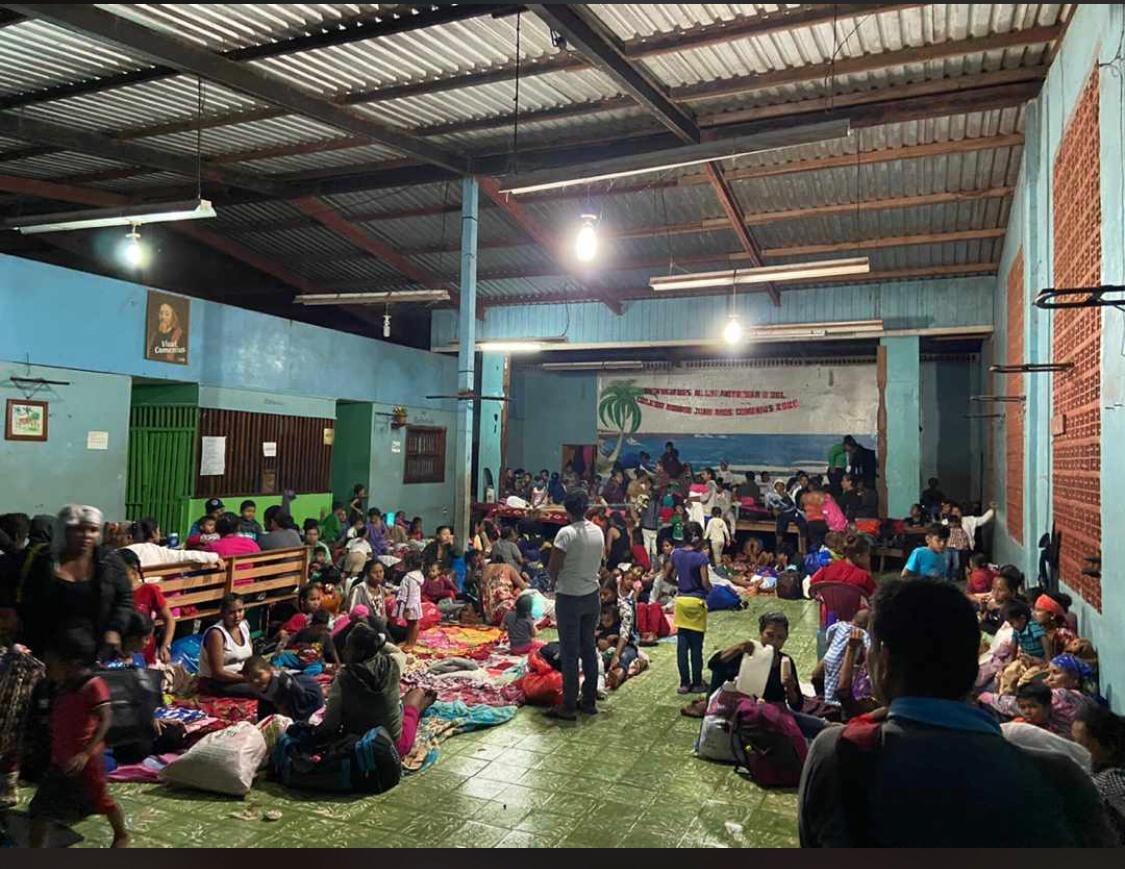 Nicaragua: Iglesia damnificados