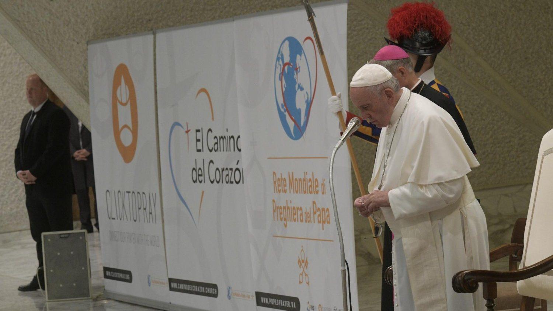 Red Mundial de Oración del Papa erección