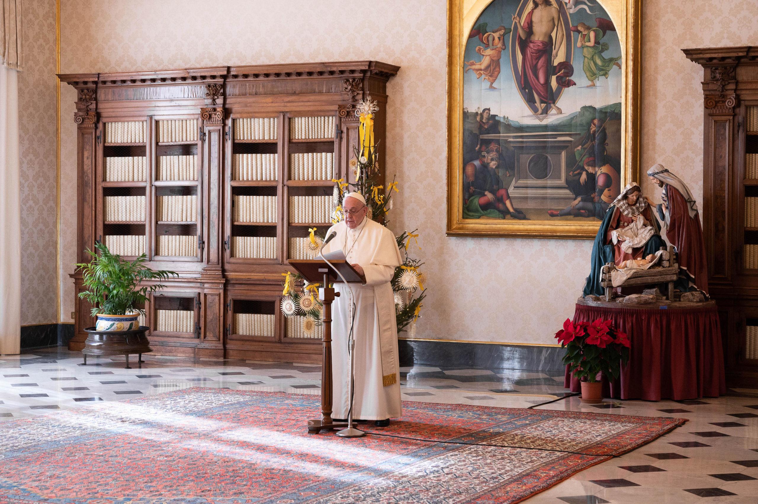 Papa cercanía familias